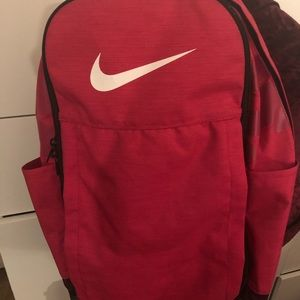 Rush pink Nike Brasilia XL Backpack